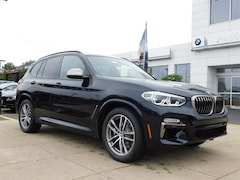 New 2019 BMW X3 M40i SUV 5UXTS3C54K0Z02961 for Sale in Schaumburg, IL at Patrick BMW