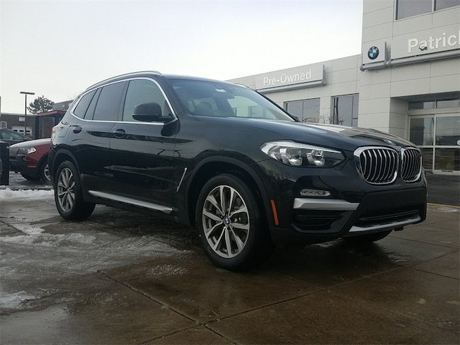 New 2019 BMW X3 xDrive30i SAV for sale in Chicago IL