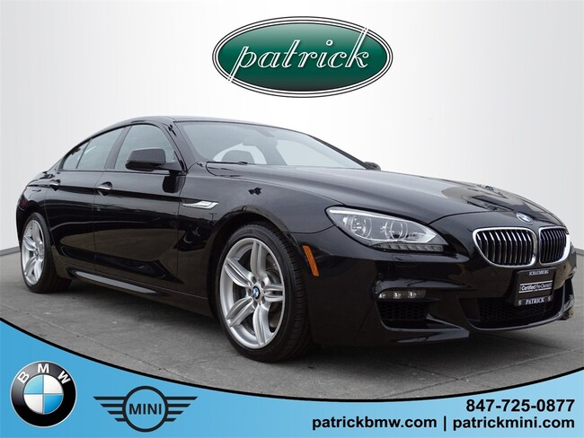 Used 2014 BMW 6 Series 640i xDrive Gran Coupe Sedan for sale in Chicago Area