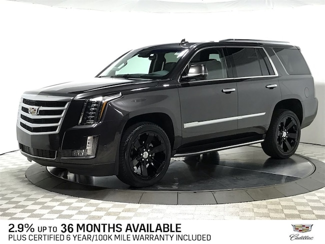 Certified Used 2018 CADILLAC Escalade Premium Luxury SUV for sale in Chicago IL area