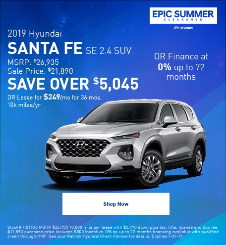 2019 - July Santa Fe