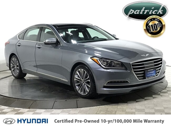 Certified Used 2015 Hyundai Genesis 3.8 AWD Ultimate Package Sedan for sale in Chicago IL area