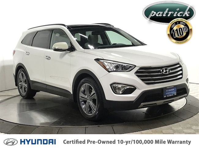 Certified Used 2016 Hyundai Santa Fe Limited Ultimate Package SUV for sale in Chicago IL area