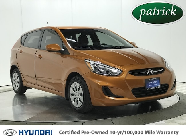 Certified Pre-Owned 2016 Hyundai Accent SE Hatchback for sale in Chicago area