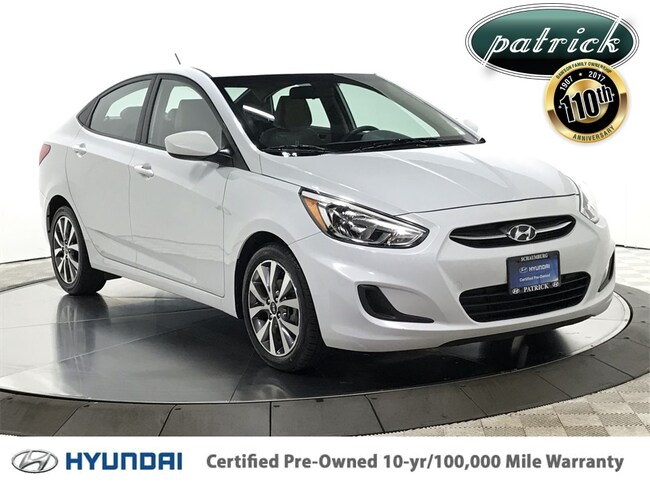Certified Pre-Owned 2017 Hyundai Accent Value Edition Sedan for sale in Chicago area