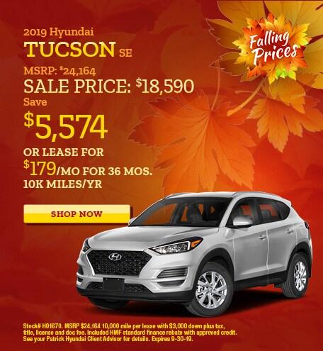 2019 - Sept Hyundai Tucson