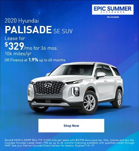 2020- July Palisade