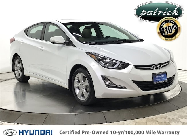 Certified Pre-Owned 2016 Hyundai Elantra Value Edition Sedan for sale in Chicago area