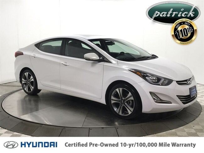 Certified Pre-Owned 2015 Hyundai Elantra Sport Technology Package Sedan for sale in Chicago area