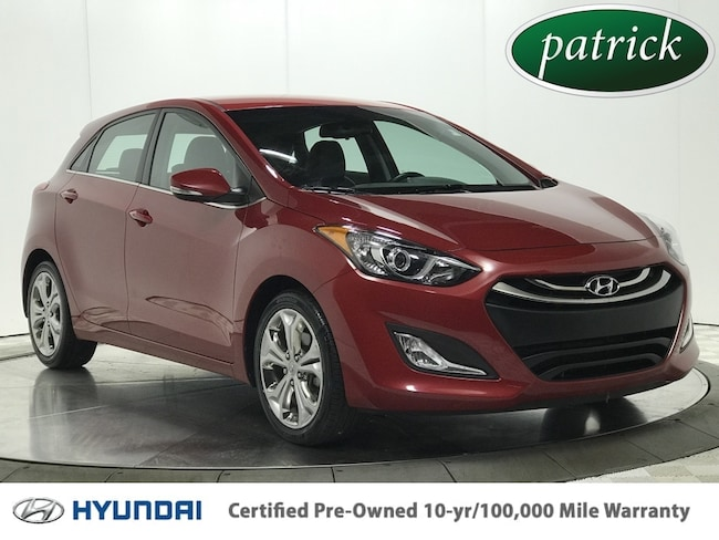 Certified Pre-Owned 2015 Hyundai Elantra GT Base Style Hatchback for sale in Chicago area