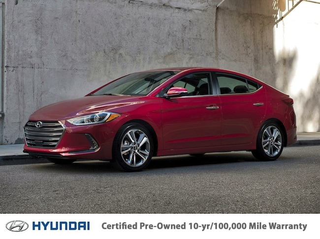 Certified Pre-Owned 2017 Hyundai Elantra SE Sedan for sale in Chicago area