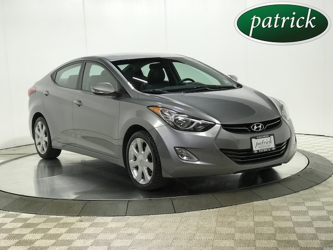 Pre-Owned 2012 Hyundai Elantra Limited Sedan for sale in Chicago area