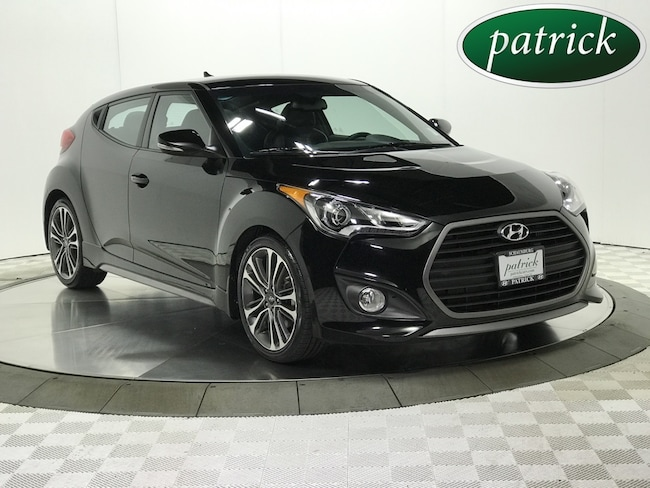 Pre-Owned 2016 Hyundai Veloster Turbo Hatchback for sale in Chicago area