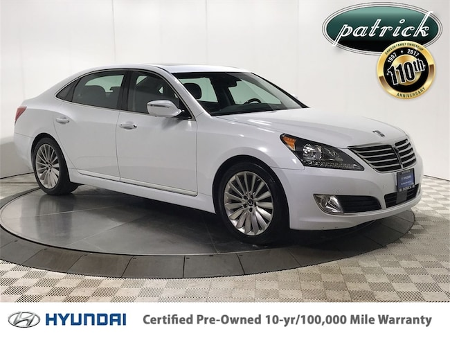 Certified Used 2016 Hyundai Equus Ultimate Entertainment Sedan for sale in Chicago IL area