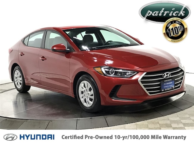 Certified Used 2017 Hyundai Elantra SE Sedan for sale in Chicago IL area