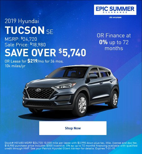 2019 - July Tucson