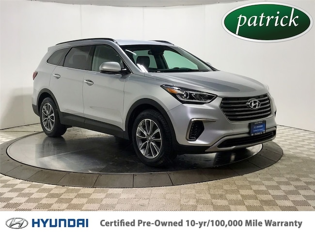 Certified Used 2017 Hyundai Santa Fe SE AWD SUV for sale in Chicago IL area