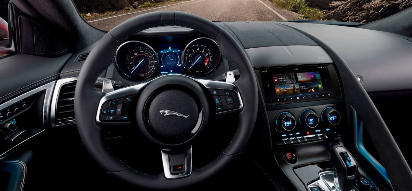 2019 Jaguar F Type Interior Features Amenities Jaguar Of