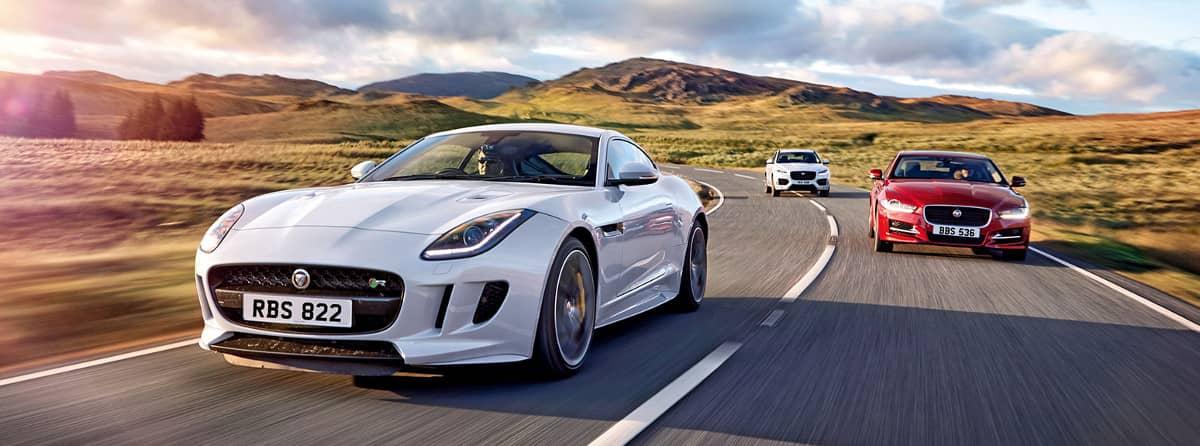 Jaguar Dynamic All-Wheel Drive Vehicles