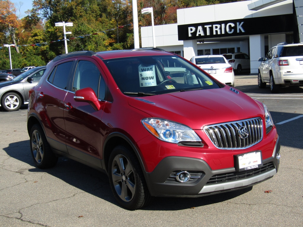 Certified Pre Owned 2014 Buick Encore Leather AWD Leather Crossover For  Sale In Richmond,