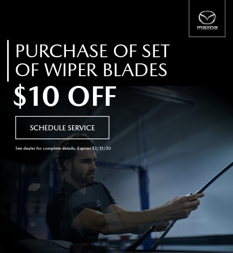 October Purchase Of Set Of Wiper Blades $10 Off
