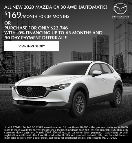 May ALL NEW 2020 Mazda CX-30 AWD (Automatic)