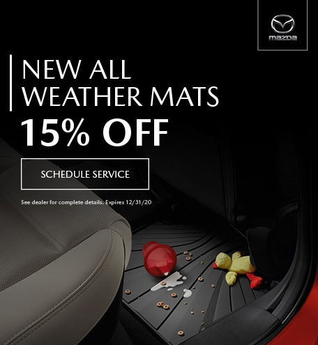 October New All Weather Mats 15% Off