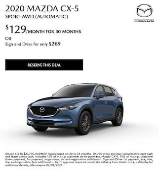 January 2020 Mazda CX-5