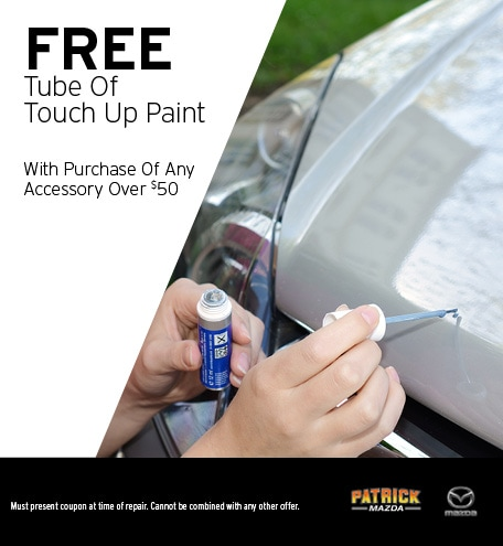 Free Tube of Touch Up Paint