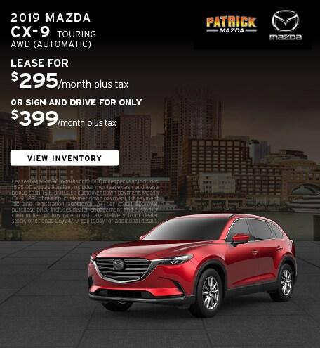 June 2019 Mazda CX-9 Lease Offer