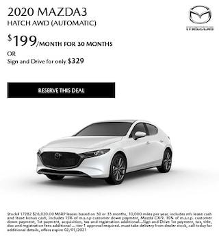 January 2020 Mazda3