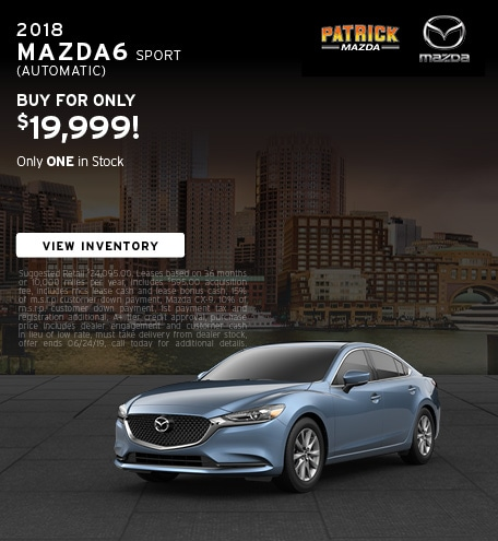 June 2019 Mazda6 Offer