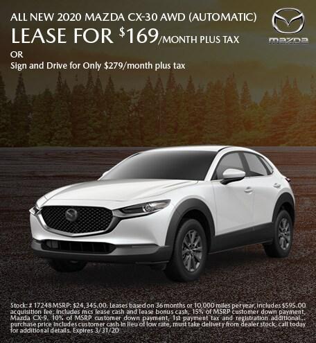 ALL NEW 2020 Mazda CX-30 AWD (Automatic)