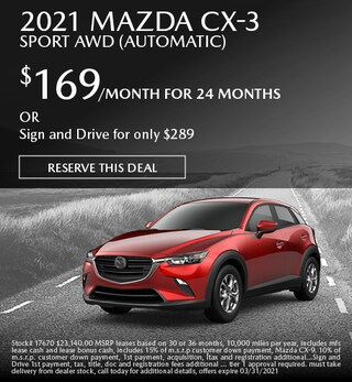March 2021 Mazda CX-3 Sport AWD (Automatic)