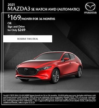 2021 Mazda3 SE Hatch AWD (Automatic)