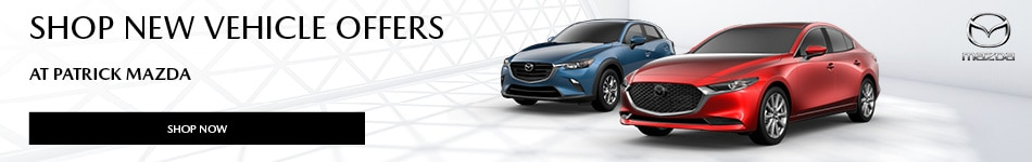 Shop New Vehicle Offers at Patrick Mazda
