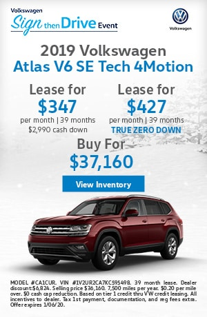 December 2019 Atlas SE Lease