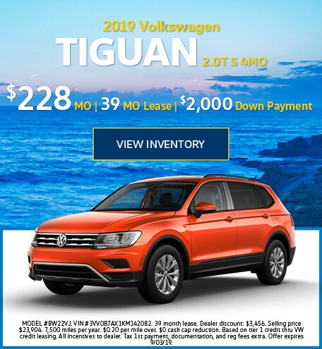July 2019 Tiguan Lease