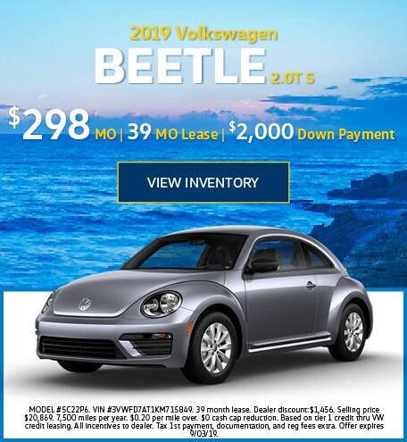 July 2019 Beetle Lease