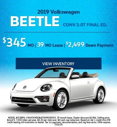 June 2019 Beetle Lease