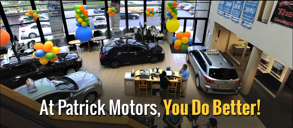 Subaru Dealers Ma >> About Patrick Subaru Shrewsbury Subaru Dealer Serving Worcester Ma