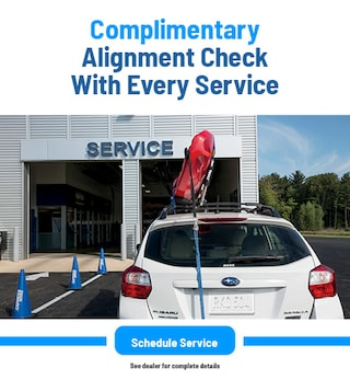 Complimentary Alignment Check With Every Service
