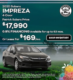 2020 Subaru Impreza 4-Door