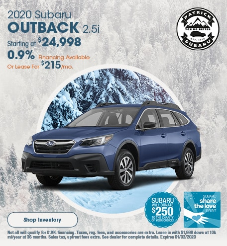 Subaru 0 Financing >> New Used Subaru Dealership In Shrewsbury Patrick Subaru
