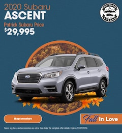 2020 Ascent October Offer