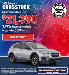 2020 Subaru Crosstrek Feb Offer