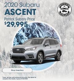 2020 Ascent November Offer