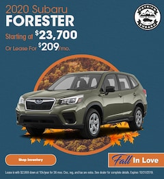 2020 Forester October Offer