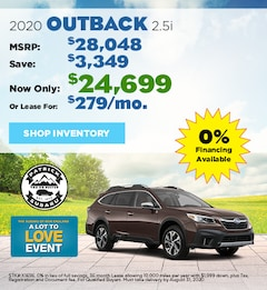 2020 Subaru Outback August Offer
