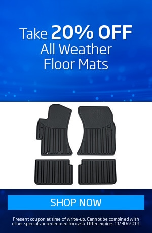 20% Off All Weather Tech Floor Liners